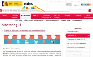 Programa Mentoring III, comercio electrónico