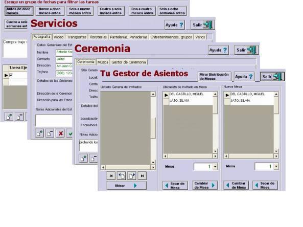 software para bodas